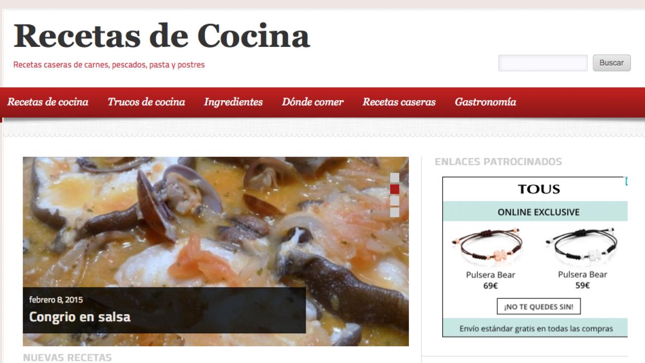 Blo Cocina | Blog De Recetas Y Consejos De Cocina Webs De Empresas