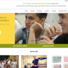 Desarrollo web Fundación Adsis