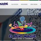 Diseño web para El Punt Magic