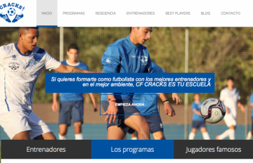 diseno web futbol valencia