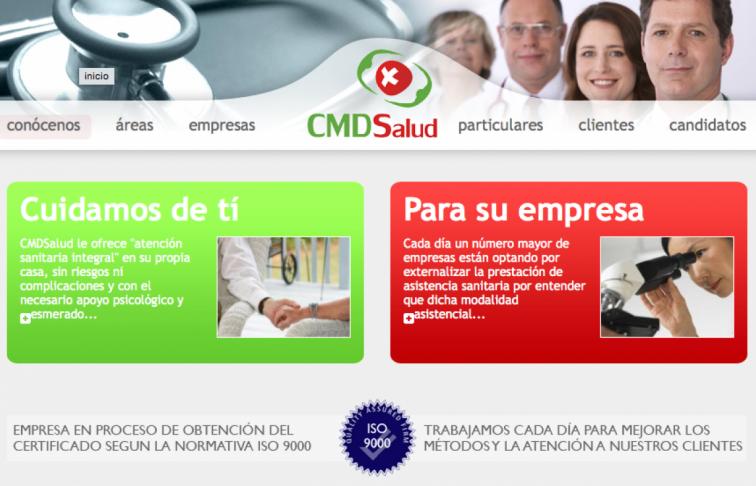 aplicacion web salud