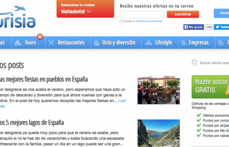 desarrollo aplicacion web viajes