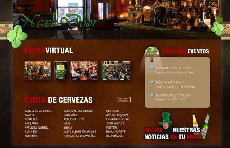 pagina web bar nextdor