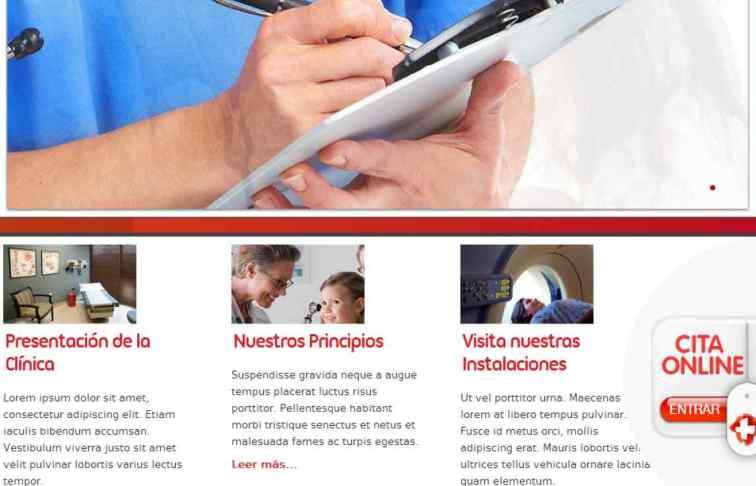 pagina web clinica valladolid