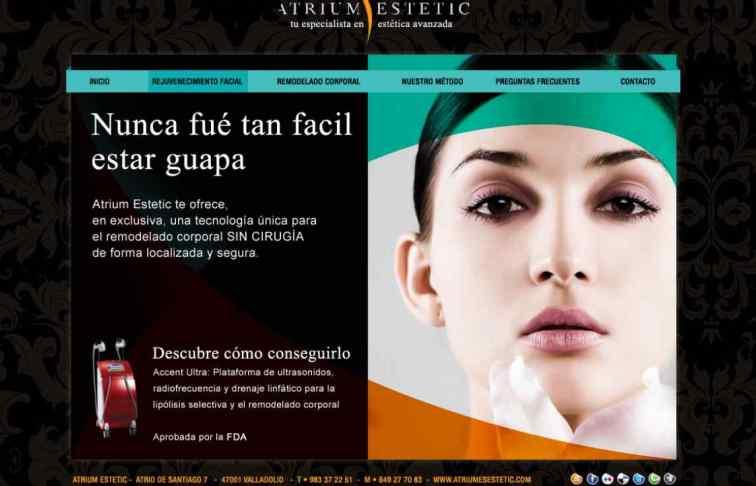 web estetica valladolid