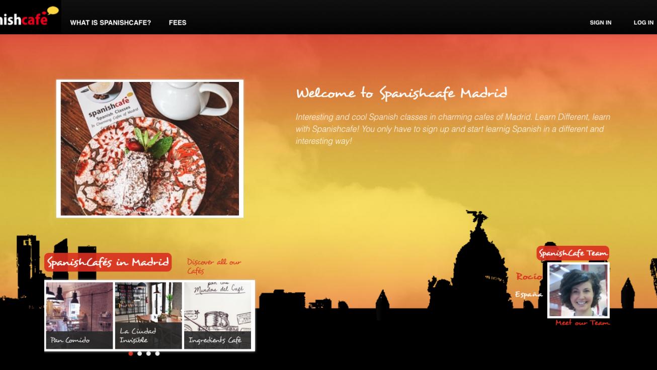 Proyecto Spanish café