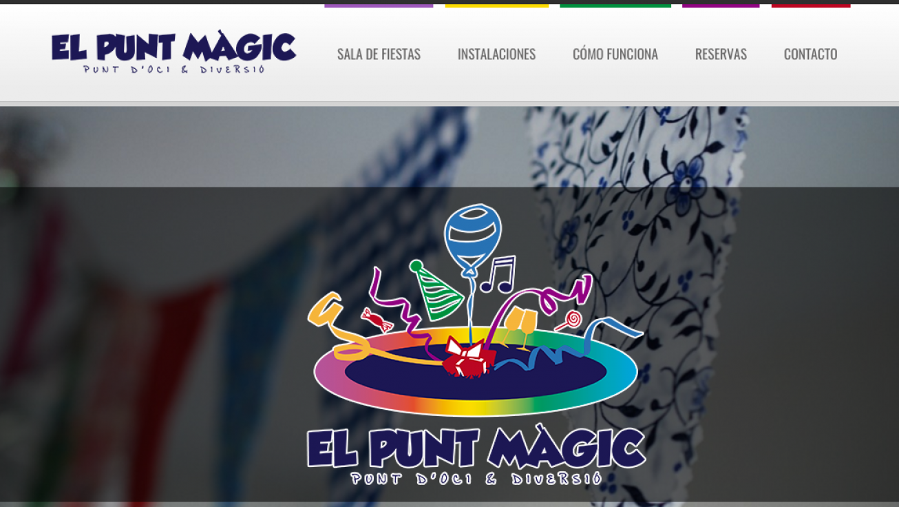 Diseño web para El Punt Magic