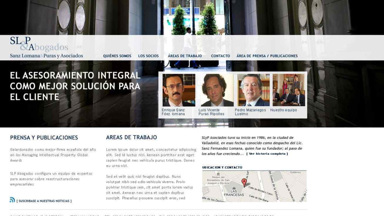 pagina web abogados slp valladolid