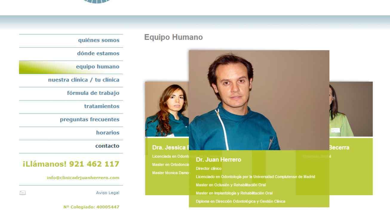 pagina web dentista