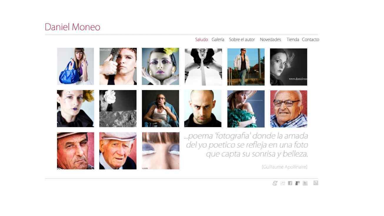 web del fotografo vallisoletano Daniel Moneo